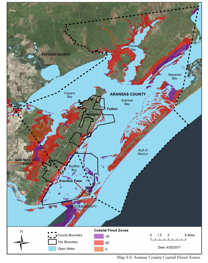 5.5 Aransas County Coastal Flood Zones