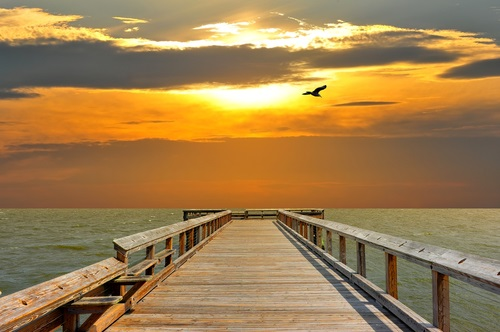 Living in Rockport Texas - Fishing Pier